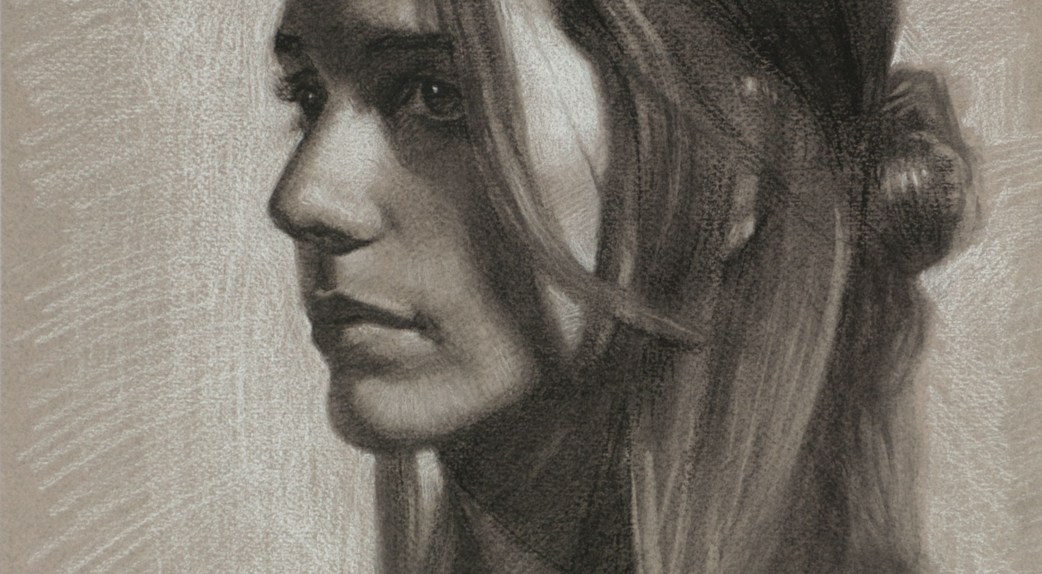 Detail of Marianna Portrait Drawing